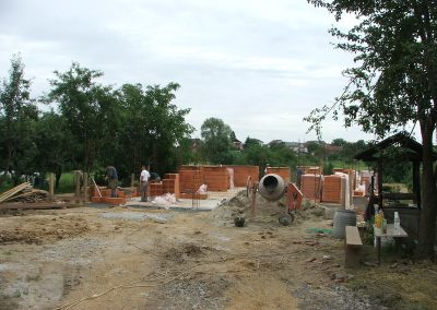 Izgradnja obiteljske kuće Botko - Vrbovec (1)