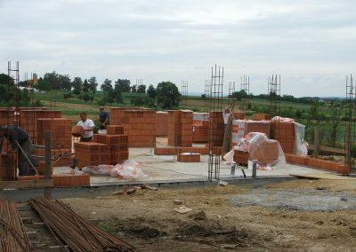 Izgradnja obiteljske kuće Botko - Vrbovec (2)