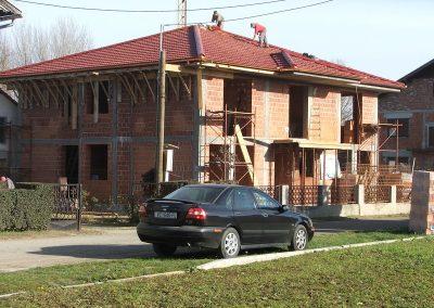 Izgradnja obiteljske kuće Golubić - Kapela Podravska (1)