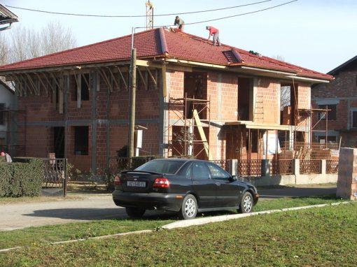Izgradnja obiteljske kuće Golubić – Kapela Podravska