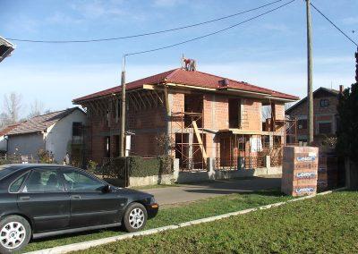 Izgradnja obiteljske kuće Golubić - Kapela Podravska (2)