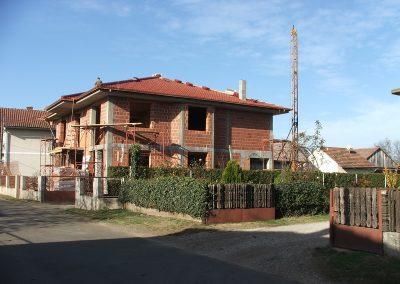 Izgradnja obiteljske kuće Golubić - Kapela Podravska (4)