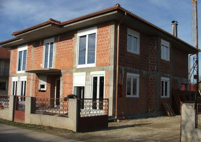 Izgradnja obiteljske kuće Golubić - Kapela Podravska (9)