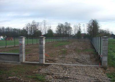 Izgradnja ograde, Valentino - Sračinec (1)