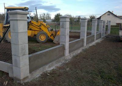 Izgradnja ograde, Valentino - Sračinec (14)