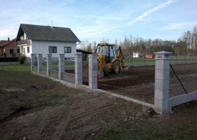 Izgradnja ograde, Valentino - Sračinec (17)