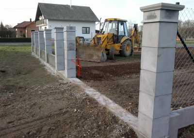 Izgradnja ograde, Valentino - Sračinec (18)