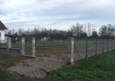 Izgradnja ograde, Valentino - Sračinec (20)