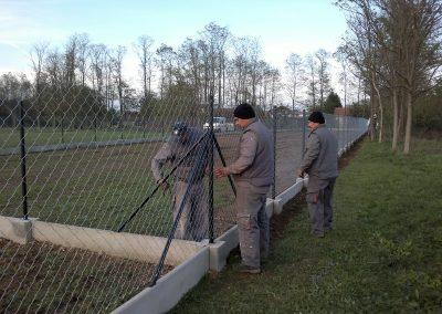 Izgradnja ograde, Valentino - Sračinec (4)