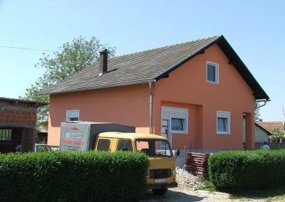 Izrada fasada obiteljskih kuća