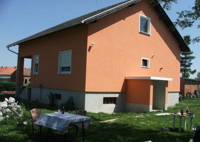 Izrada fasada obiteljskih kuća (2)