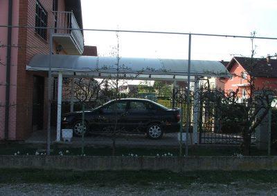 Izrada nadstrešnica za automobile (2)