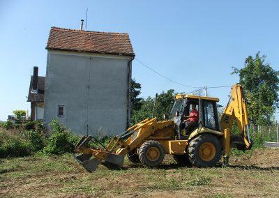 Početak izgradnje obiteljska kuće - Varaždinbreg (4)