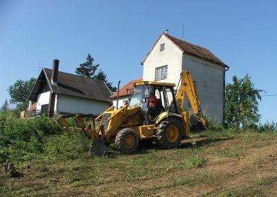 Početak izgradnje obiteljska kuće - Varaždinbreg (5)